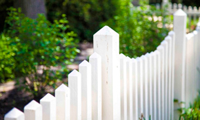 $2,500 for 96 Linear Feet of Country Estate Privace PVC Fence Installation