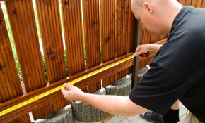 $199 for a Fence Maintenance Package, Reserve Now for $49.75