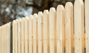 $299 for Wooden Fence Post Replacement