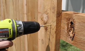 $599 for Up to 36 Feet of Privacy Fence Installation