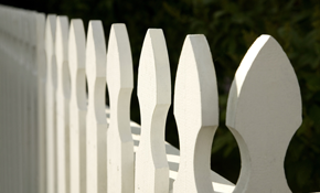 $129 for Wooden Fence Maintenance Package