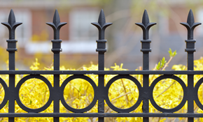 $900 for $1,000 Credit Toward Powder Coated Iron Fence Installation