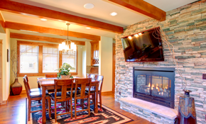 $4,000 for Stone Fireplace Facing