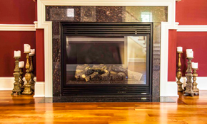 $159 Gas Fireplace Service Call and Repair