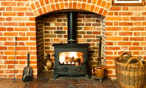 $4,595.00 for Regency ci1250 Wood Burning Fireplace Insert Installation