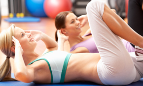 $180 for 5 Half-Hour Gym Personal Training Sessions