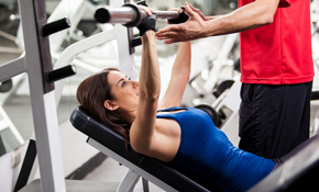 $40  for 3 Half-Hour Gym Personal Training Sessions