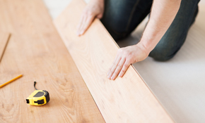 $810 for up to 300 Square Feet of Engineered Wood Installed-Labor Only