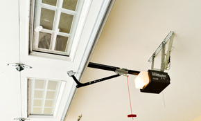 $365 for a Liftmaster 8365 Premium Chain Garage Door Opener Installation, Plus a 2 Remotes and Keyless Entry
