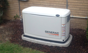 $3,980 Installation of a Home Generator