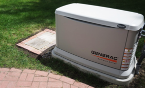 $5,040 Installation of a Home Generator--Includes Gas Line Connection