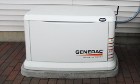 $4,995 Installation of a 7Kw Generac Generator with 8-Circuit Transfer Switch