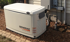 $5850 Installation of A Home Generator
