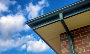 "$750 for 200 Feet of 5"" Seamless K-style Gutters or Downspouts"