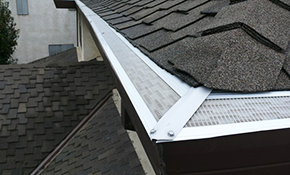 $1,400 for New Seamless Gutter and Downspout Installation, 33% Savings