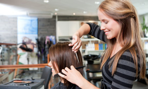$140 for Women's Haircut and Partial Highlights