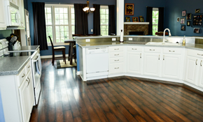 $89.2 Deposit for up to a 200 Square Feet Wood-Look Porcelain Tile Floor Installation