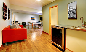$49 for a Custom Basement Remodel Consultation