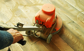 $1,995 for Up to 700 Square Feet of Hardwood Floor Sanding and Refinishing