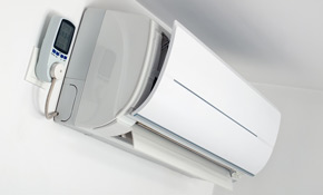 $2,800 for a Ductless AC/Heat Wall Unit, 18% Savings