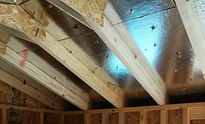 $699 for 1,000 Square Feet of Blown-In Fiberglass Insulation