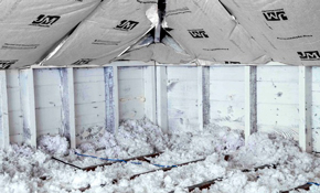 $1,650 for Blown-In Fiberglass Insulation