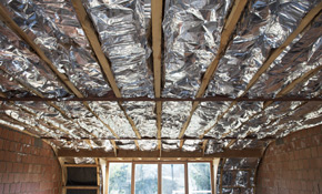 $1,013 for 1,000 Square Feet of Radiant Barrier Insulation