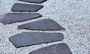 $1,800 for Paver Stone Patio or Walkway Delivery and Installation