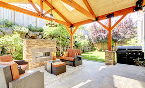 $99 Outdoor Living Space or Patio Consultation with Credit
