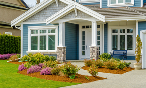 $225 for 1 Cubic Yard of Premium Mulch Delivery and Installation