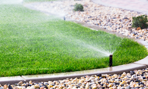 $1,299 for a 3-Zone Sprinkler System Installation - Design Consultation Included
