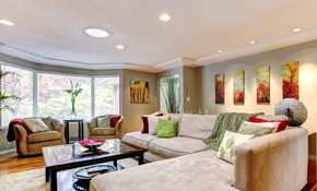 $195 for 4 New Recessed Lights with a Dimmer Switch Installation