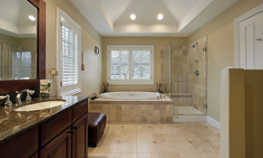 $1,165 for Up to 120 Square Feet of Ceramic Tile Floor Installed - Labor Only