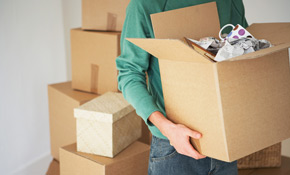 $1,095 for 18 Labor Hours  of Packing Services (3 person crew for 6 consecutive hours each)