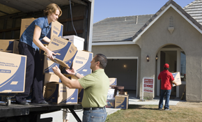 $235.00 for a 24-Foot Moving Truck, a 3-Person Crew for 2 Hours, and 25% off Moving Supplies