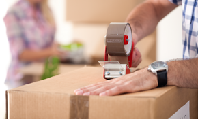 $555 for a 31-Foot Moving Truck and a 4-Person Crew for 3 Hours, Plus 15% Off Moving Supplies