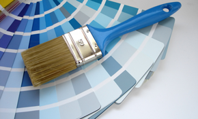 $299 for Front Door and Garage Door Painting