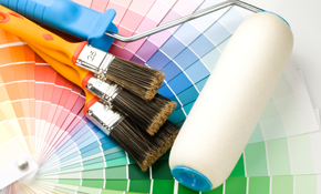 $299 for 2 Rooms of Interior Painting