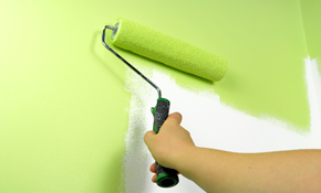 $1,000 for 2 Rooms of Interior Painting, Reserve Now $50