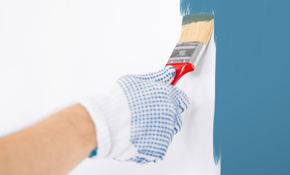 $445 for 2 Rooms of Interior Painting - Premium Paint Included