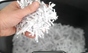 $59 for Mobile Paper Shredding