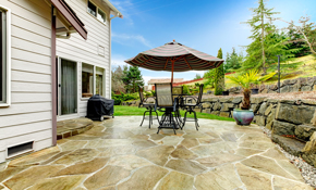 $3,339 for New Flagstone Patio Installation