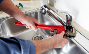 $39 Plumbing Service Call Plus Credit Toward Repairs