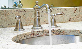$675 for a New Granite Bath Vanity Countertop with Backsplash