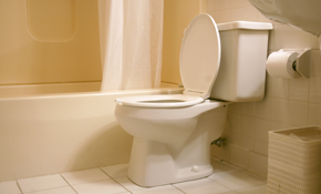 $435 for New Toilet Installation