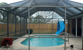 $109 for 1,500 Square Feet of Pool Enclosure Cleaning