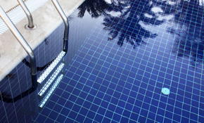 $90 for Professional Pool Tile Cleaning