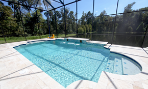 $169 for 1,500 Square Feet of Pool Enclosure Cleaning