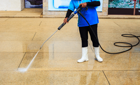 $89 for 750 Square Feet of Driveway, Patio or Sidewalk Pressure Washing