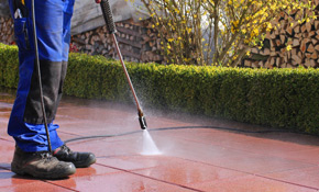 $199 for 400 Square Feet of Brick, Stone Pavers, Concrete, Wood or Composite Surface Pressure Washing